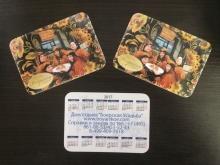 Карманные календари 100х70 мм 1000 шт.